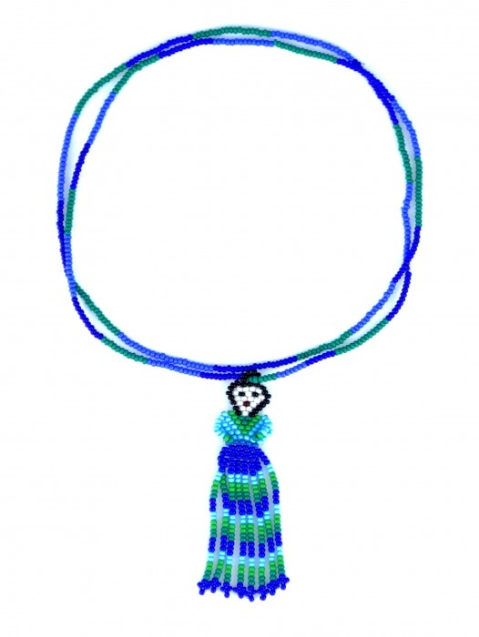INDIGENOUS HUICHOL BEADED NECKLACE