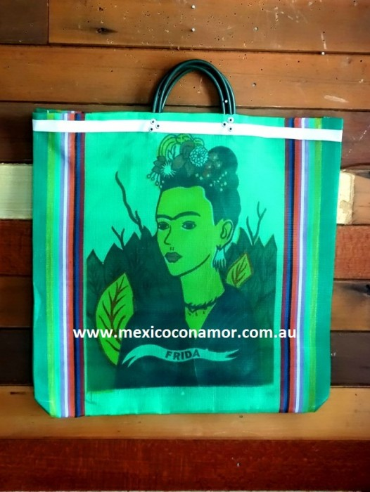 MARKET TOTE / BEACH BAG – 'FRIDA KAHLO'