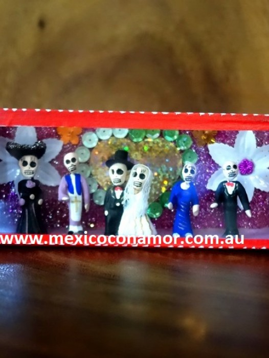 MINI DAY OF THE DEAD NICHO – BRIDALPARTY