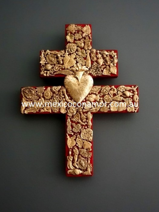 "WOODEN MIRACLE ""CROSS OF LORRAINE"""