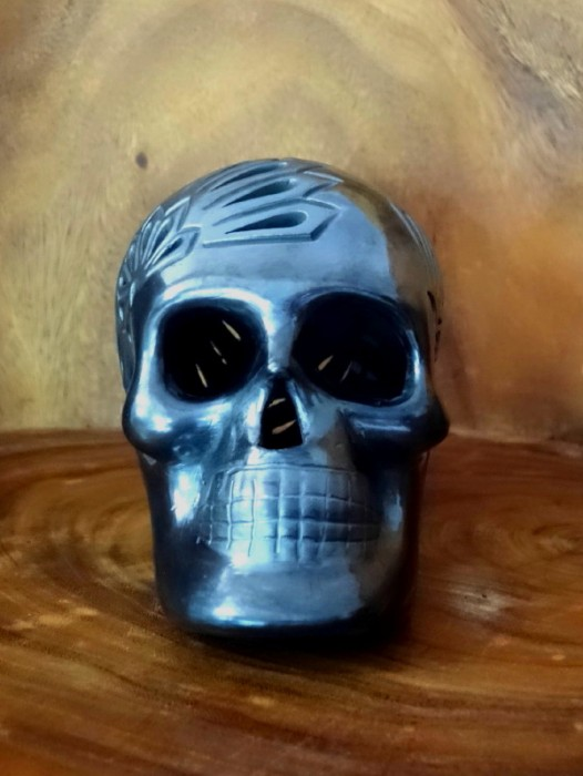 LARGE BARRO NEGRO SUGAR SKULL