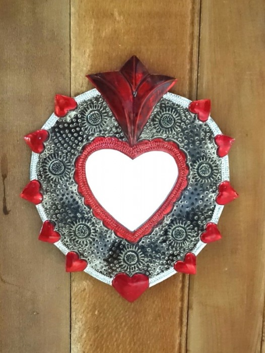 MEDIUM SACRED HEART MIRROR