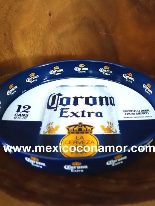 CORONA EXTRA CERVEZA (BEER) TRAY